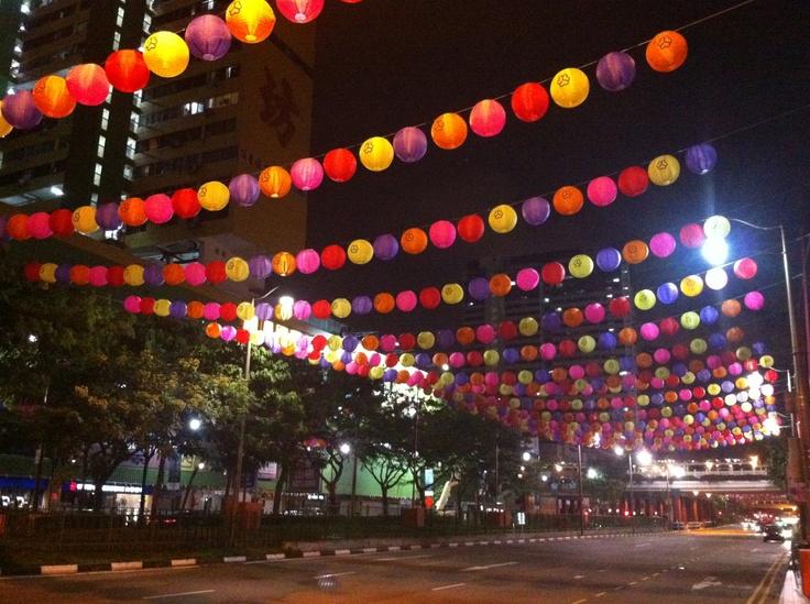 Retro lantern festival @ Chinatown Singapore