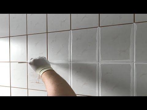 Fliesen Fugen Umfarben So Wird Das Badezimmer Schon Youtube Badezimmer Fliesen Fliesen Verfugen Badezimmerfliesen