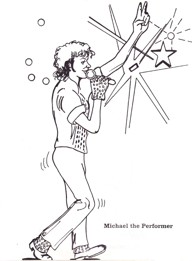 1000 Images About Michael Jackson Coloring Book On