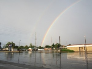 A Rainbow in Joplin, so pretty!