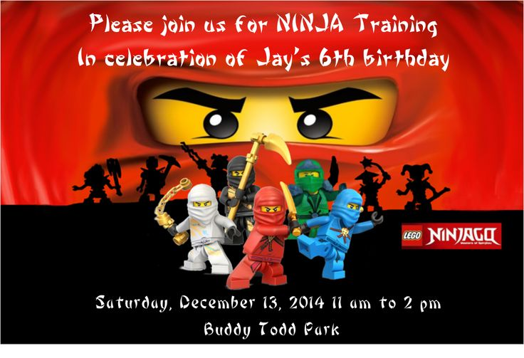 The birthday party invitation