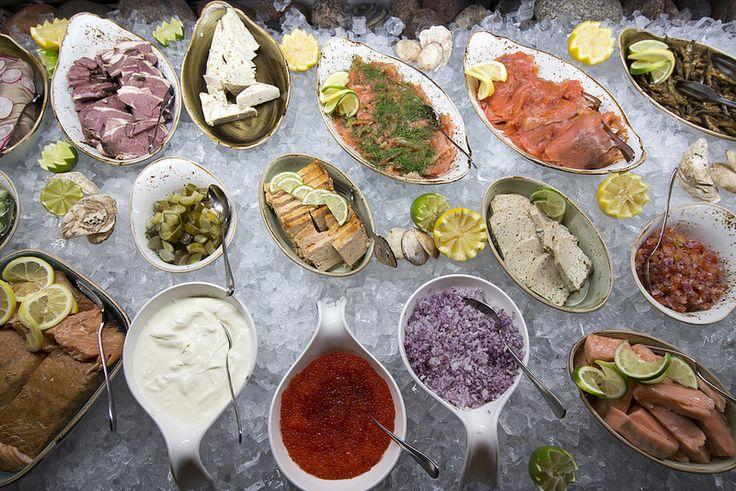 Restaurant Origo, Seafood Buffet #visitsouthcoastfinland #hanko #Finland #restaurantorigo #origo #food #restaurant #fish #seafood #buffet