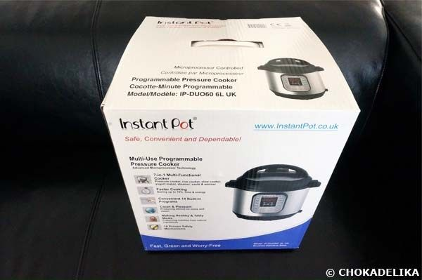 Le multicuiseur Instant Pot IP-DUO60
