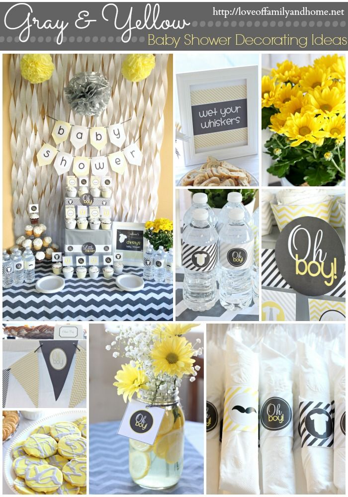 10 best images about baby showers with jo ann on pinterest for Baby shower decoration sets