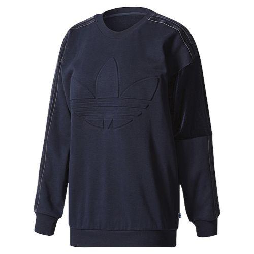 adidas Originals St. Petersburg Velvet Sweatshirt - Women's at Lady Foot Locker