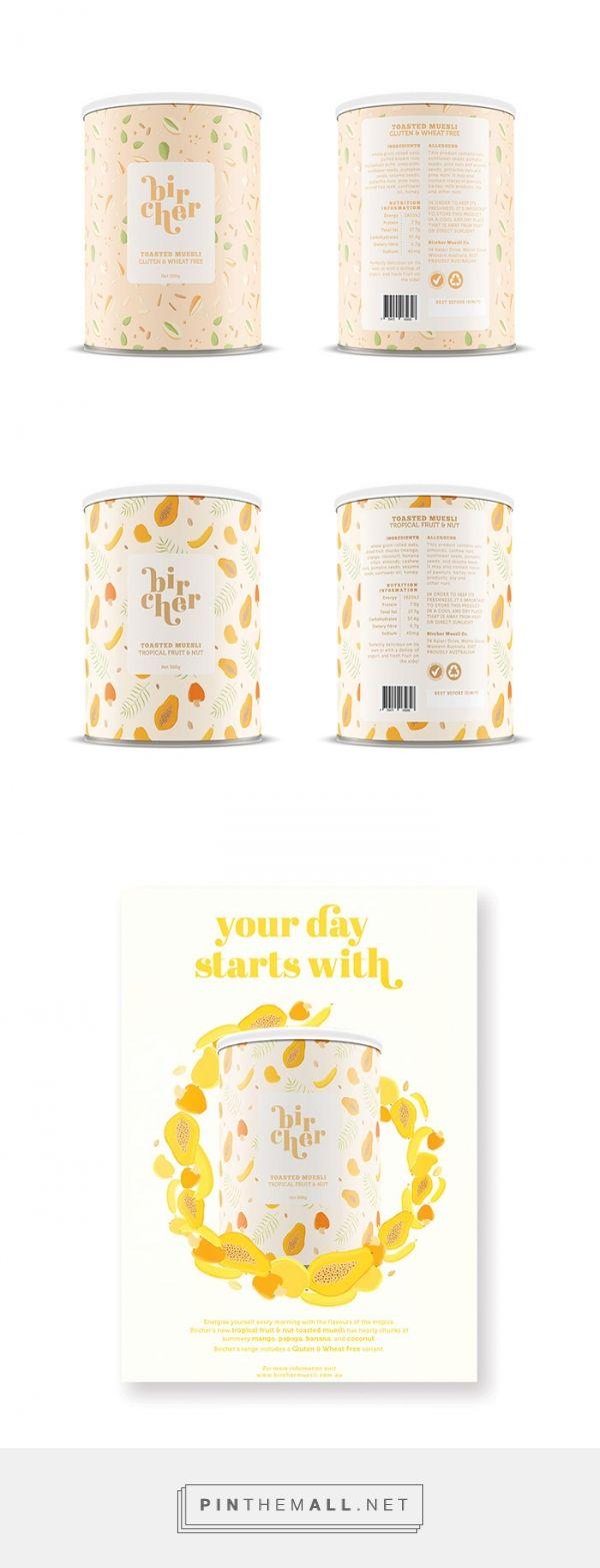 Bircher Muesli by Giullana Alarkon. Source: Daily Package Design Inspiration…