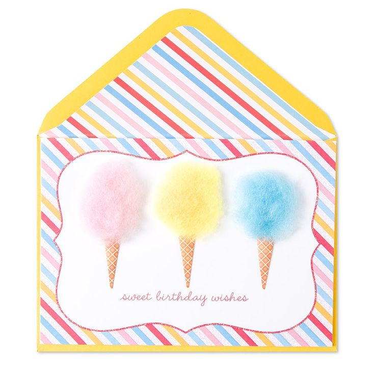 Birthdays, Cotton And Candy