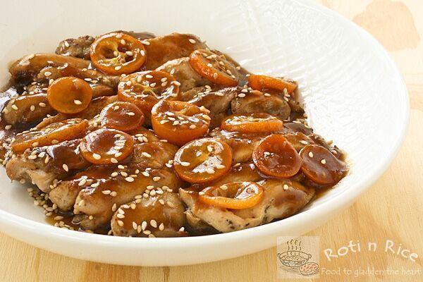 Kumquat Chicken « Roti n Rice