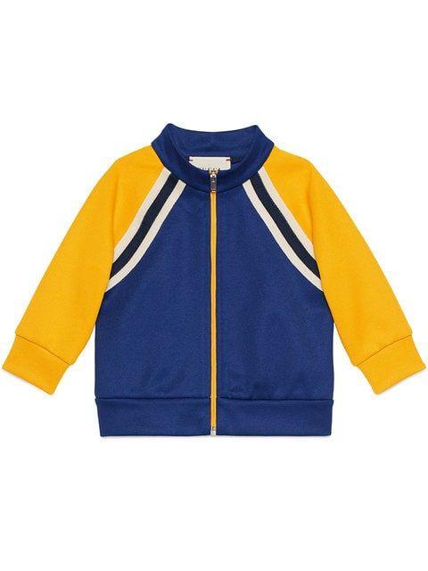 0d18e7ef9a7 Gucci Kids Baby Technical Jersey Sweatshirt - Farfetch