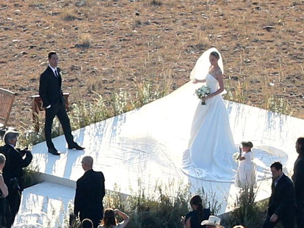 Kate Bosworth weds Michael Polish in Montana