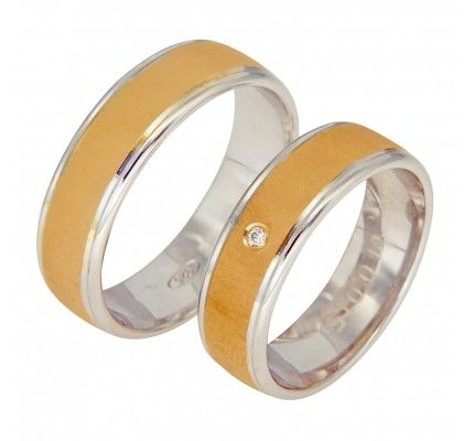 Βέρες #Bonise WE229360LR #wedding_ring #whitegold #gold #red_gold #marriage #proposal #love #faith