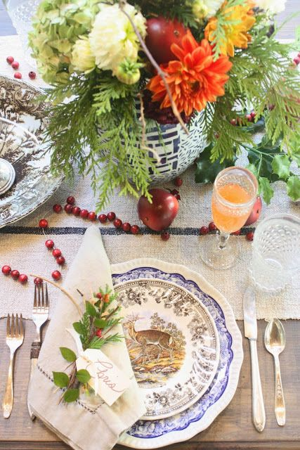 My Sweet Savannah: ~our Thanksgiving table~