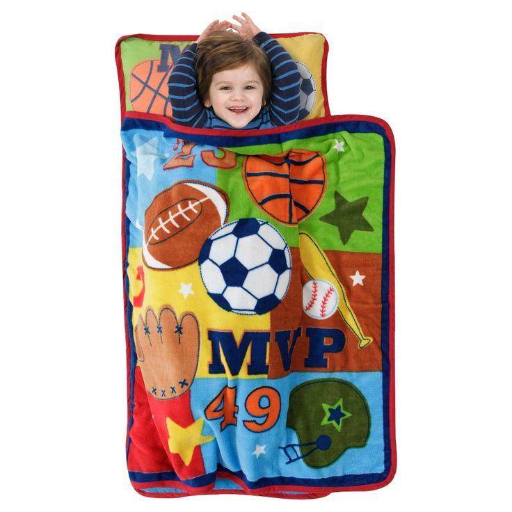 Mvp Nap Mat Blue (Toddler) - Baby Boom