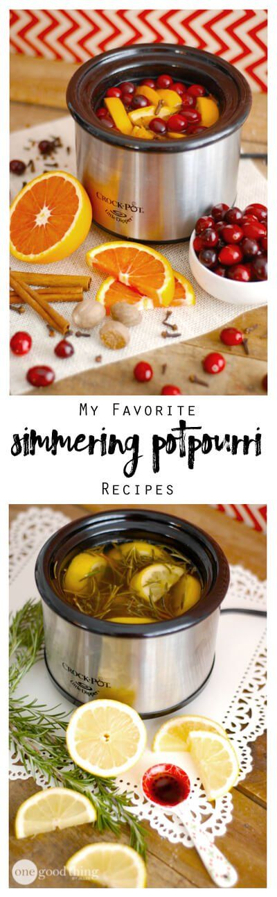 My+Favorite+Simmering+Potpourri+Recipes+-+One+Good+Thing+by+Jillee