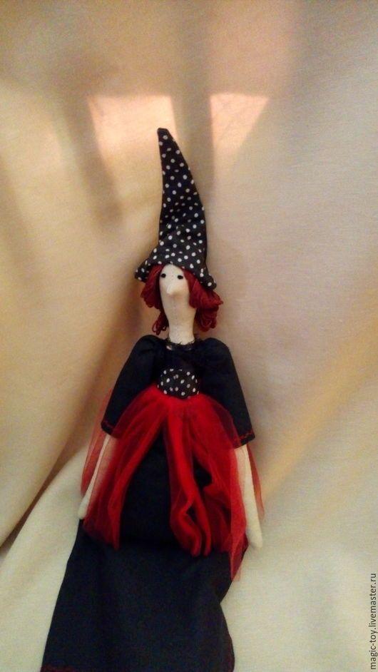 Купить куклу Тильда Ведьмочка, ручная работа, оригинальный подарок, сувенир, украшение интерьера
