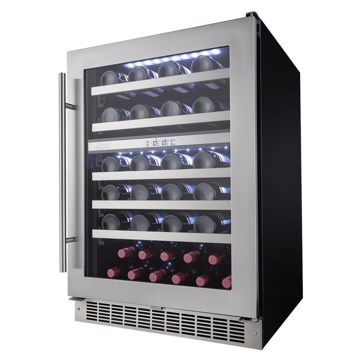 This piece is perfect for the entertainer that likes to keep a broad selection of bottles on hand and offer them to their guests at the exact temperature of ultimate enjoyment.
