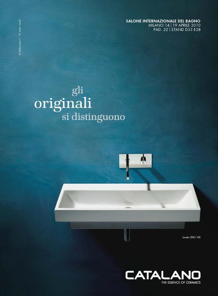 Advertising Catalano, Salone del Mobile 2010, Corriere della Sera