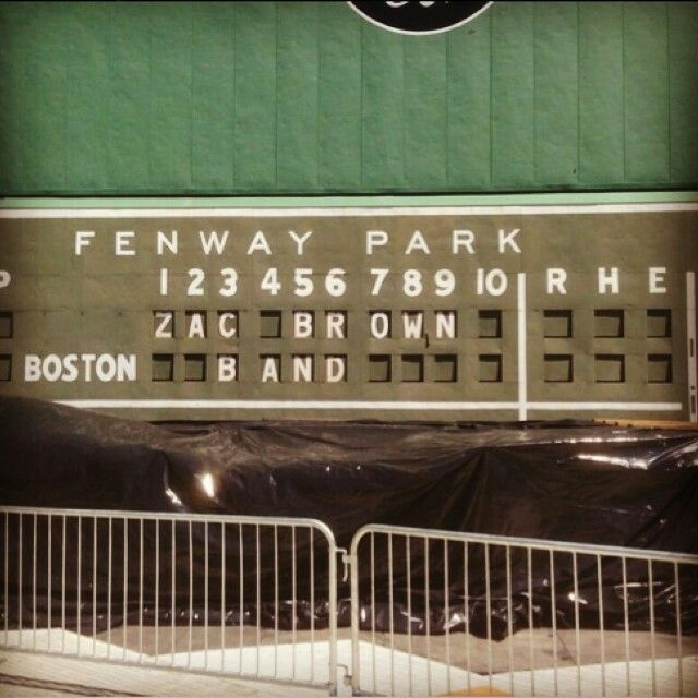 #ZacBrownBand will be back at #FenwayPark this summer!!!!  #Boston http://www.fenwayticketking.com/zac-brown-band-fenway-park-tickets.html
