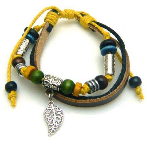 Autumn Leaf Multilayer Bracelet