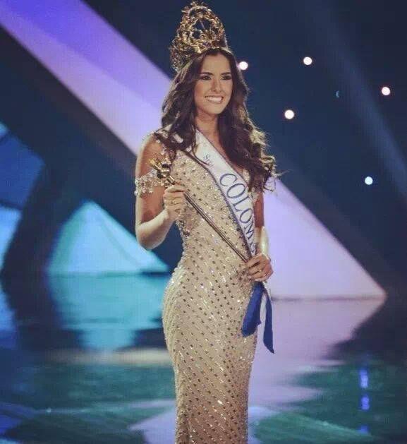 Paulina Vega Dieppa Crowned Miss Universe Colombia 2014