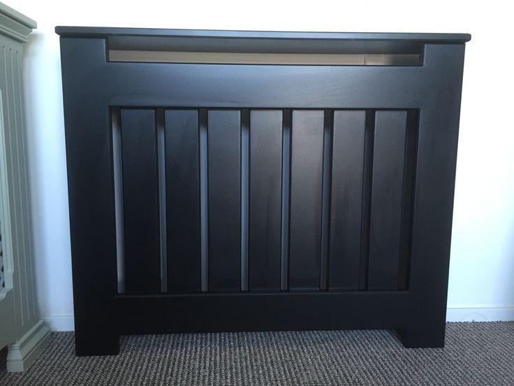 Black Handmade Made to Measure Radiator / Storage Heater Cover                                                                                                                                                                                 Mehr