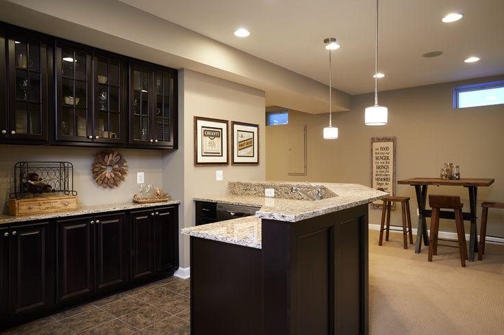 Finished Basement Luxury Homes | Kingsmill —
