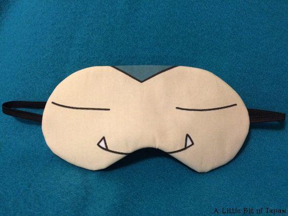 Cosplay Sleep Mask - Snorlax from Pokemon