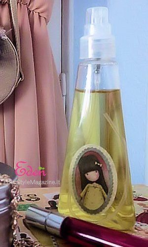 Spray capelli condizionante all'albicocca. Ricette Cosmetici fatti in casa.