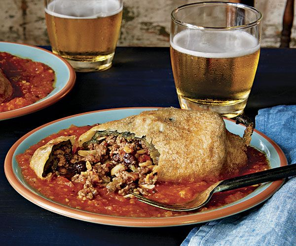 Chiles Rellenos- Fine Cooking Magazine | By far the most delicious recipe I've attempted!
