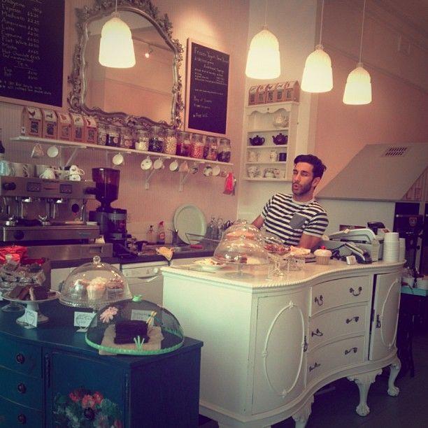 68 best My tea room decor ideas images on Pinterest | Bakery shops ...