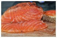 Русская кухня в Люксембурге - Соленая красная рыба