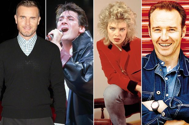 New Gary Barlow album linked to Eddie the Eagle film will feature host of Eighties music legends - Mirror Online