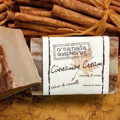 Cinnamon Cream Soap Bar