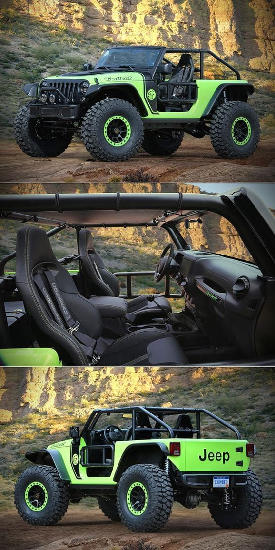 """ Jeep Wrangler Trailcat"" Most luxurious SUVs In The World 2017 Best luxury SUVs"