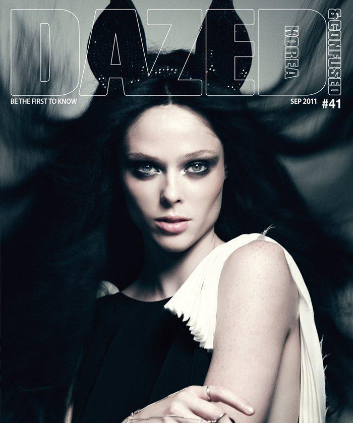 Coco Rocha - Dazed & Confused Magazine Cover [Korea, North] (September 2011)