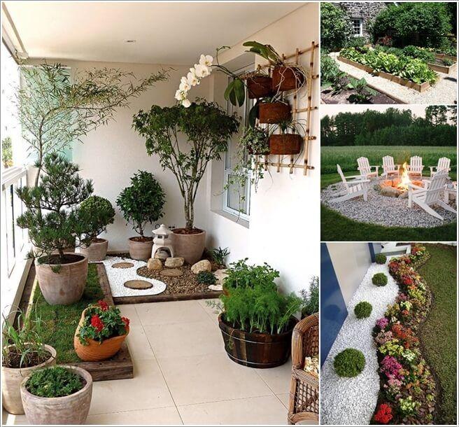 Perfect 10 Terrific Ways To Decorate With White Gravel Amazing Ideas