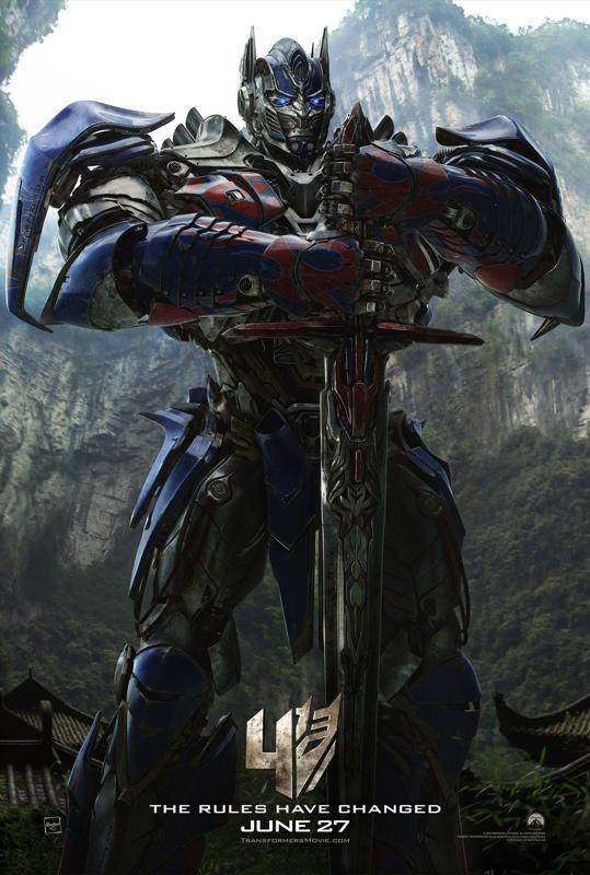 Transformers Age of Extinction - yes the dinobots make it to the big screen!