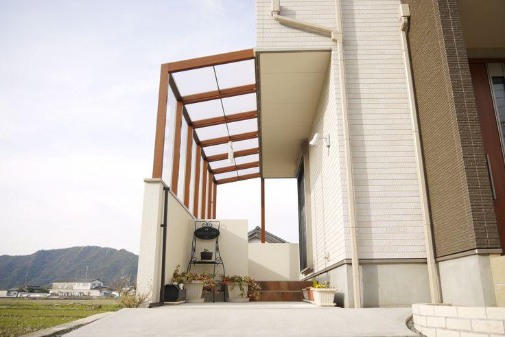 LIXILココマ サイドオープン腰壁テラス