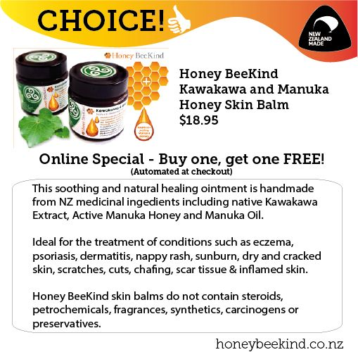Beekind produce more than just bees wax polish.  They also have a beautiful skin care range