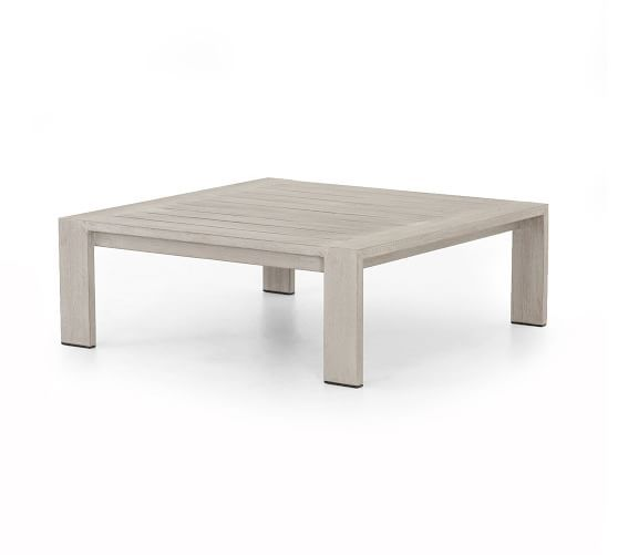 Punta Mita Teak Coffee Table | Outdoor coffee tables, Teak ...
