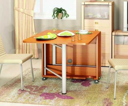 Folding Dining Table Designs: DIY Trolley Table Spa Cook On