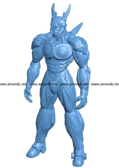 Appleseed Men B003562 file stl free download 3D Model for