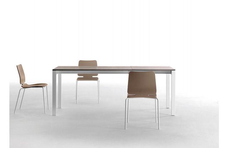 Table de Repas Rectangle à Rallonge Punto 150 cm Design Ondarreta - Ensemble - Meubles Sodezign