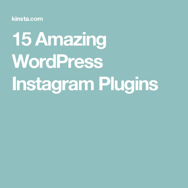 15 Amazing WordPress Instagram Plugins