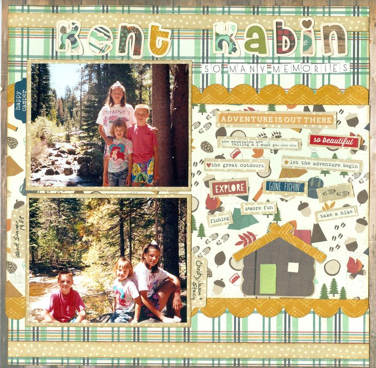 Kent Kabin - Simple Stories - Cabin Fever Collection