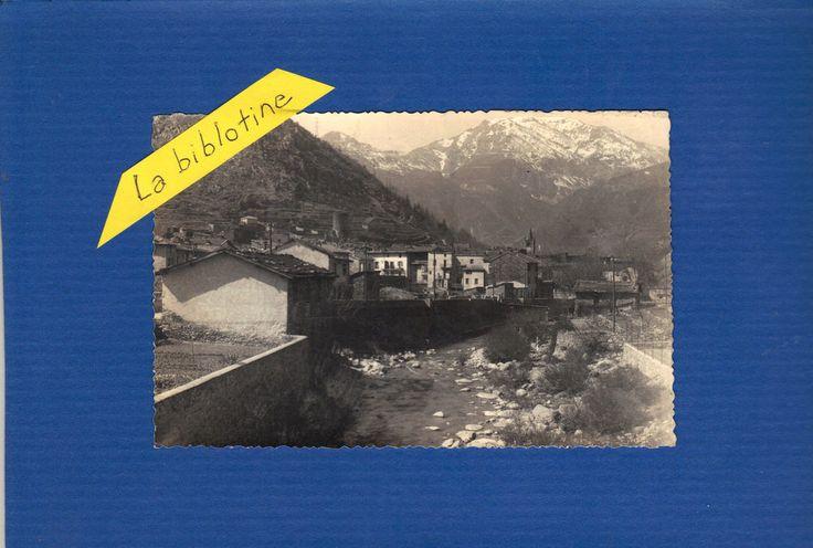 CPA PHOTO - LA BRIGUE (06) -  1948