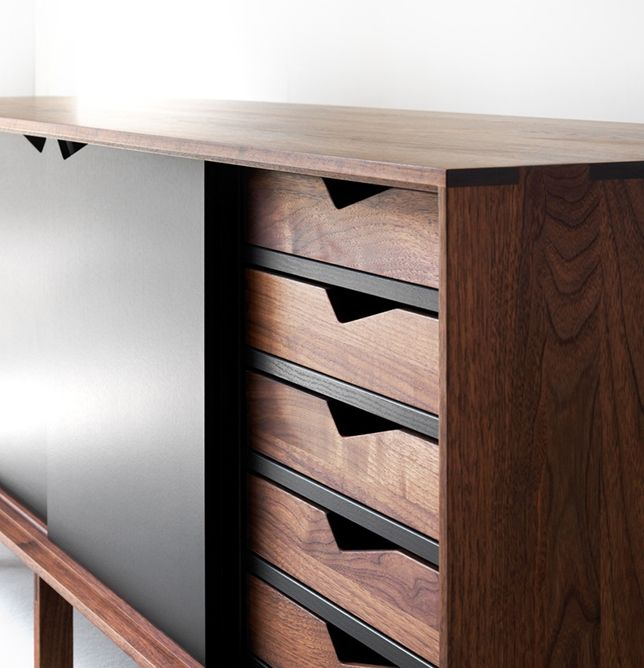 S1 Sideboard is made for everyday use. It's simple, rational and back-to-basics and quality craftsmanship that only real carpenters can do. ByKato LOVE