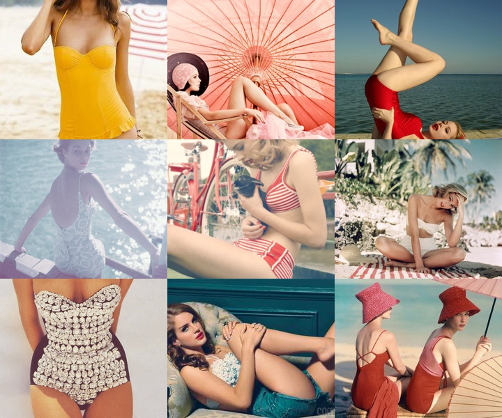 Complete obsession with vintage swimwear: Vintage Swimsuits, Inspiration, Life Magazines, Vintage Bath Suits, Summer Love, Beach, Bath Beautiful, Retro Style, Pin Up