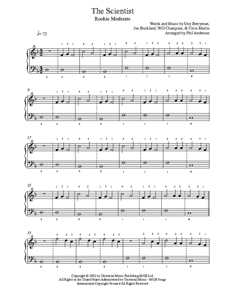 O Fly On Coldplay Sheet Music Best 25+ Coldplay pian...