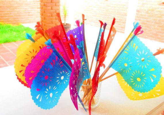 Die besten 25 mexico party decorations ideen auf for Mexikanische dekoration